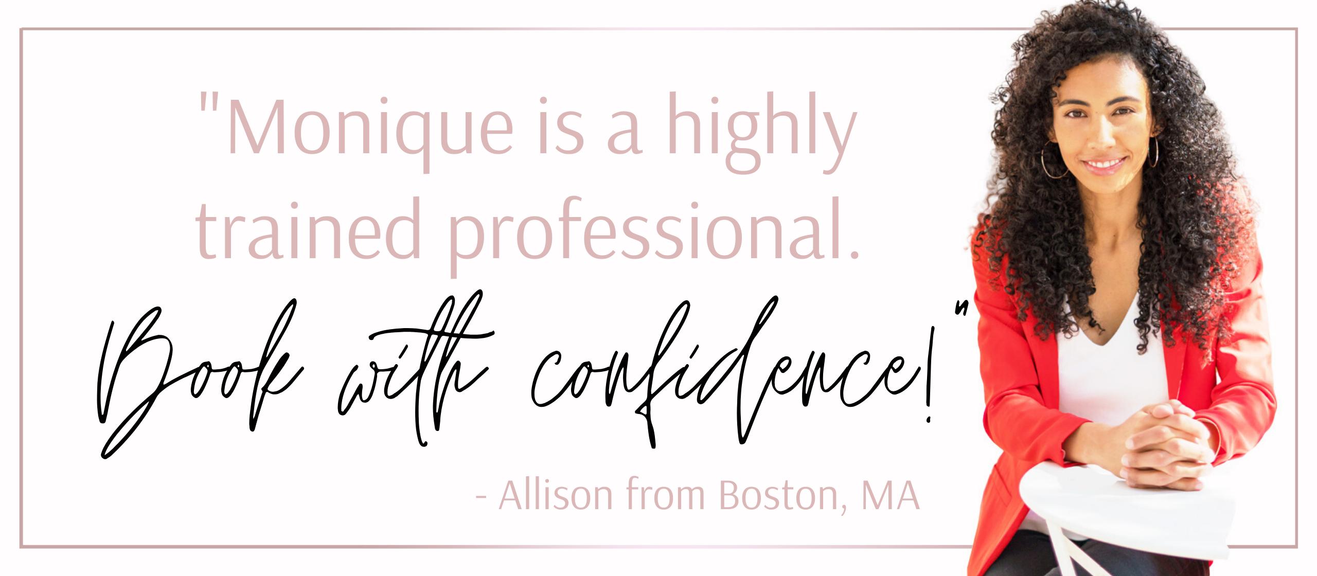 - Allison from Boston, MA